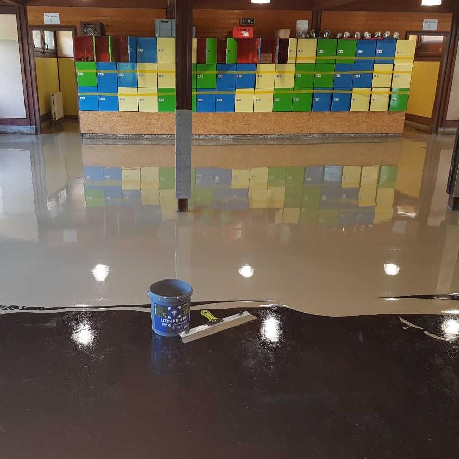 Bodenbelag für Eislaufanlage Illerau 3