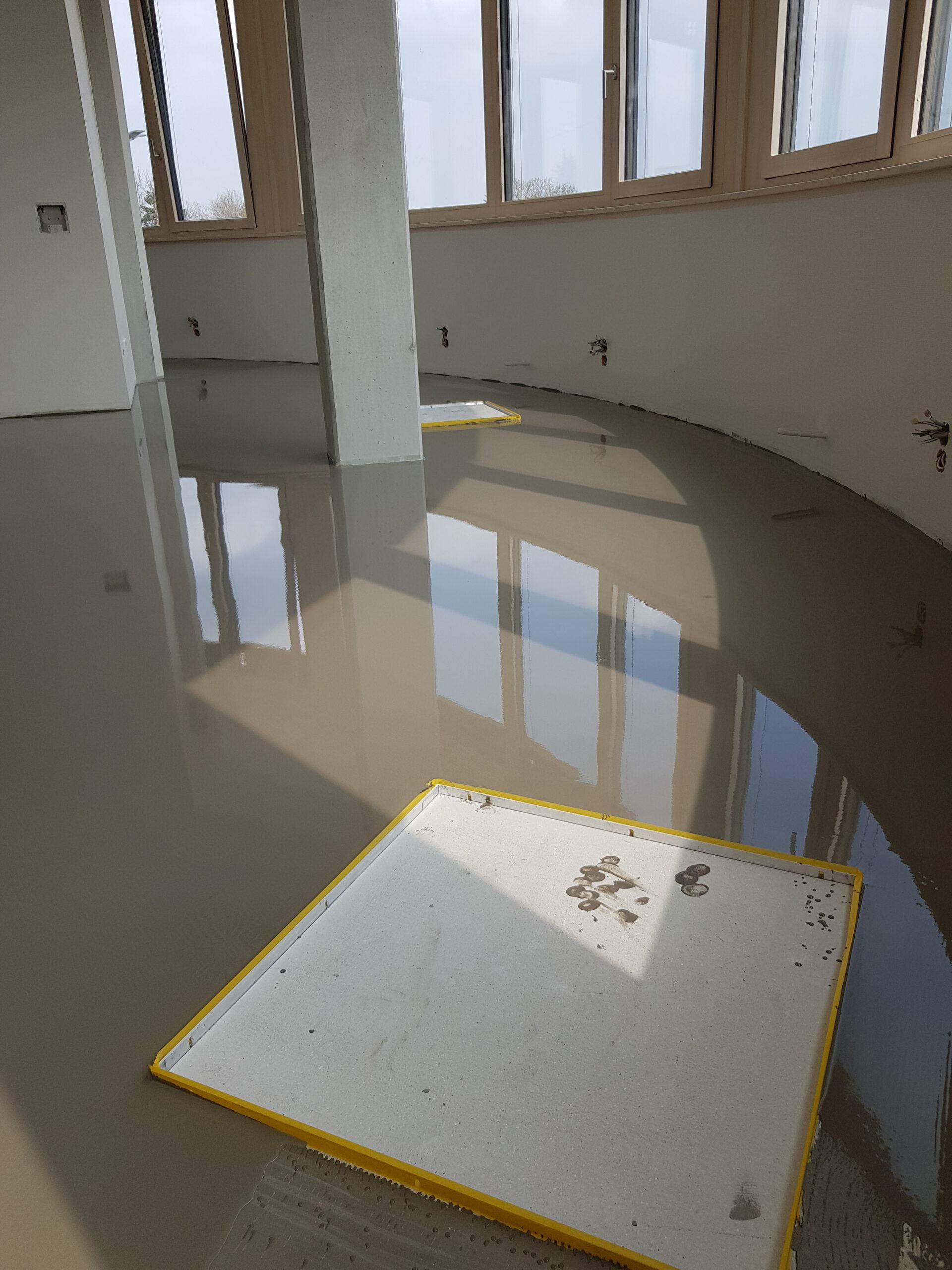 Kautschuk-Bodenbelag für Ärztehaus 7